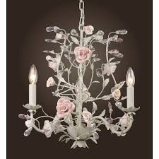 porcelain chandelier roses pink roses chandelier baby and kids lighting by all kids ls