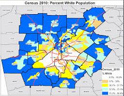 map of atlanta metro area segregations geography the atlanta metro region race and