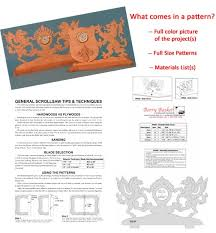 scroll saw patterns download at berry basket