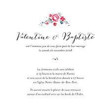 invitation mariage texte faire part de mariage original à personnaliser par l atelier