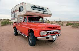 Vintage Ford Truck Camper - cummins powered 1966 gmc camper truck