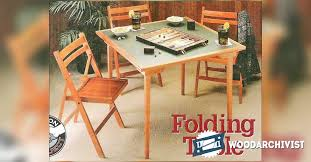 Wood Folding Table Plans Folding Table Design Interiors Design