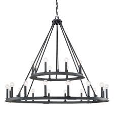 Black Iron Chandeliers Black Iron Capital Lighting Fixture Company