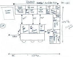 kitchen island clearance space around kitchen island best kitchen island dimensions ideas on