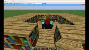 Minecraft Enchanting Table Bookshelves Minecraft Tutuorials 1 How To Make An Enchantment Room With Pop