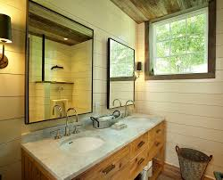 Farm Style Bathroom Vanities by Farmhouse Style Bathroom Beach Style With Mounted Tub And Shower