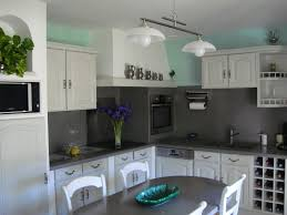 cuisine repeinte en gris exemple de cuisine repeinte cuisine repeinte grisblanc avec