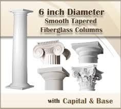 Decorative Column Wraps Sale On Columns Architecture Columns Pvc Column Wraps Capitals