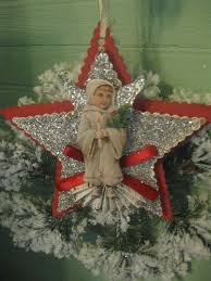 Vintage Christmas Decorations 400 Best Holiday Christmas Vintage Images On Pinterest Christmas