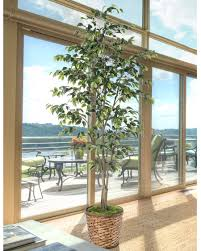 realistic cost effective silk artificial trees at