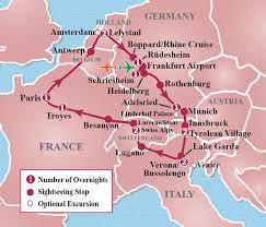 of europe circle tour itinerary detail image tours