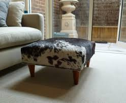 Unusual Ottomans by Decor Snazzy Cow Print Ottoman Design Furnishing Your Cute Home