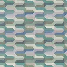 Geometric Fabrics Upholstery Turquoise Navy Blue Geometric Upholstery Fabric Ocean Blue Woven