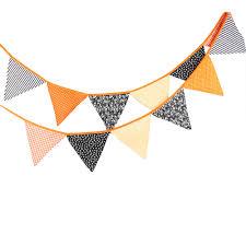 aliexpress com buy 12 flags 3 2m cotton fabric black orange
