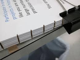 how to bind a book fake hybrid perfect bind book making book