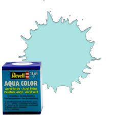 18ml 55 aqua light green matt acrylic 36155