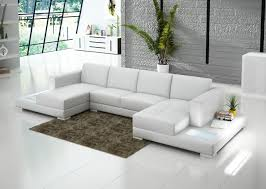 living room comfortable double chaise sectional for excellent
