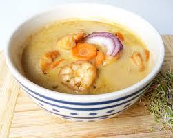 cuisiner des gambas curry de gambas au lait de coco vivre healthy