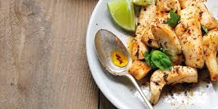 cuisiner les seiches plancha blanc de seiche ail citron vert et basilic marabout