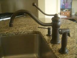 kitchen faucets bronze delta trinsic faucet in chagne bronze kitchen by design