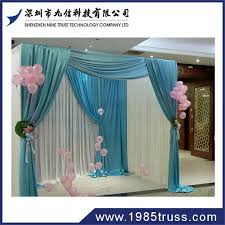 wedding backdrop and stand nine trust wedding pipe and drape stage backdrop aluminum backdrop
