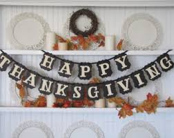 thanksgiving banner etsy