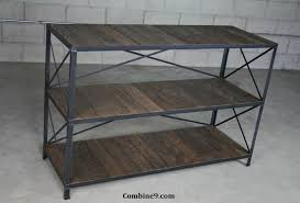 Industrial Shelving Unit by Buy Hand Crafted Reclaimed Wood Shelving Unit Rustic Bookcase