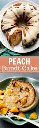 peach bundt cake with brown butter icing sallys baking addiction
