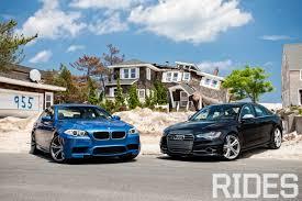 audi s6 vs driven 2013 bmw m5 and 2013 audi s6 rides magazine