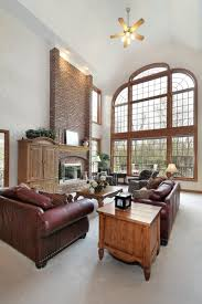 Two Story Fireplace Decor Tips Cool Stone Fireplace Mantels For Interior Design Mantel