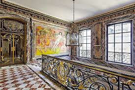 Empire Style Interior Crush Of The Day Second Empire Style Van Dyck Mansion Paris