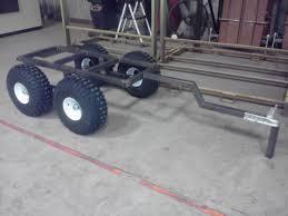 homemade 4x4 homemade atv trailer honda foreman forums rubicon rincon