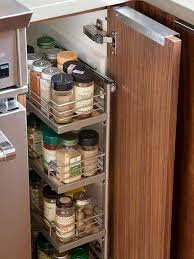 Rustic Spice Rack Kitchen Shelf Cabinet Made From Best Home How To Organize Kitchen Cabinets Kitchens Organizations And