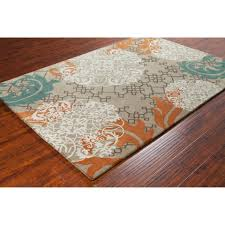 Solid Color Rug Blue And Copper Area Rug Detail And Room Orange And Blue Area Rugs