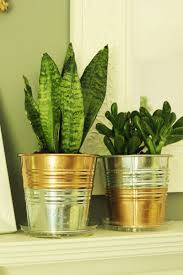 Ikea Outdoor Planters by Ikea Hack Diy Copper Galvanized Planter Pots