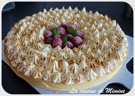 cuisine tarte au citron tarte meringuée citron citron vert touche de framboise la