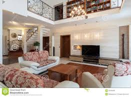 classy house elegant living room royalty free stock image