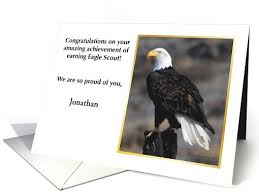 cards for eagle scout congratulations customized congratulations eagle scout card 1081282