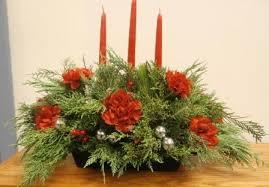 christmas flower arrangements christmas flower arrangement class shelby community library