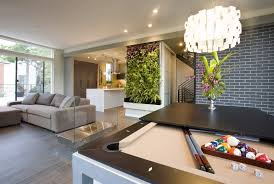 Pool Table In Living Room Living Room With Pool Table Family Room Modern With Pool Table