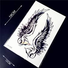 flying black wings henna design paste hqs c51