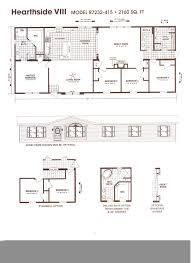 2003 oakwood mobile home floor plans
