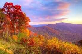 7 places fall foliage south