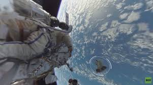 how fast does the space station travel images Watch the first ever 360 degree video of a spacewalk the verge png