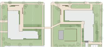 L Shaped Floor Plans by Campus Avenue Project Facility Services Bates College