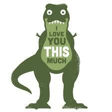 Funny T Rex Meme - t rex meme i love you this much 4iam