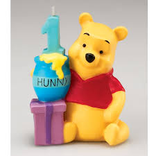 1st birthday candle winnie the pooh birthday candle birthday party ideas