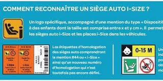 reglementation siege auto enfant sièges enfants l europe impose isofix challenges fr