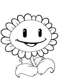 plants vs zombies coloring pages for kids coloringstar