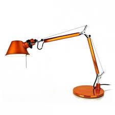 le de bureau artemide tolomeo micro orange le de bureau artemide luminaire vibert